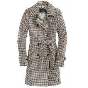 J. Crew wool blench trench coat